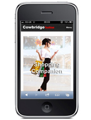 Cowbridge Shopping Mobile App