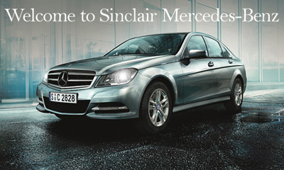 Sinclair Mercedes-Benz in Bridgend and Cardiff