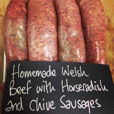 I G  Nicholas sausages Cowbridge
