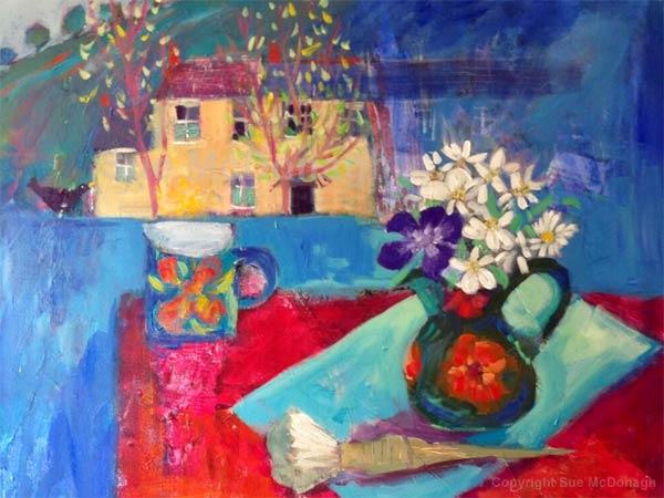 Original painting by Sue McDonagh