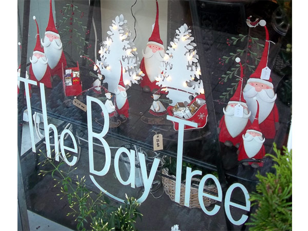 The Bay Tree at Christmas in Cowbridge